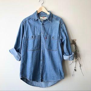 Levi's | Vintage Denim Button-down Top